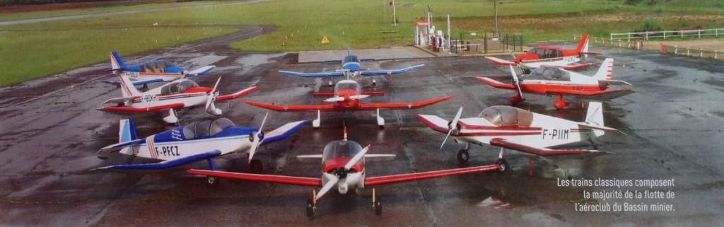 Avions de l'aéroclub Montceau LFGM