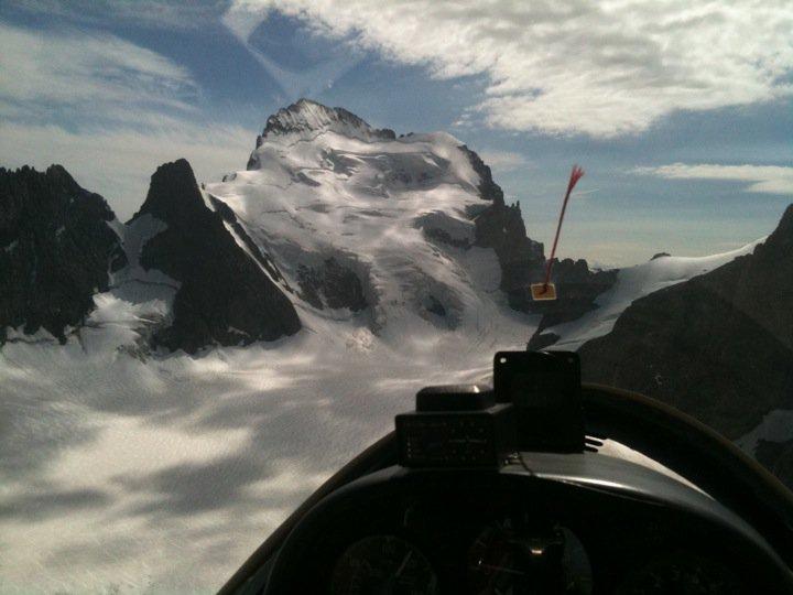 Planeur en Montagne